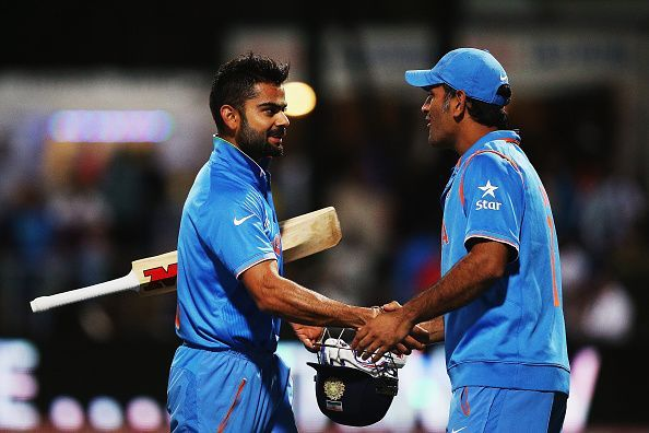 Virat Kohli and MS Dhoni have been the pillars of the Indian ODI Team