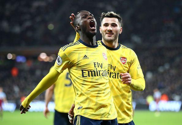 Arsenal finally won in the Premier League