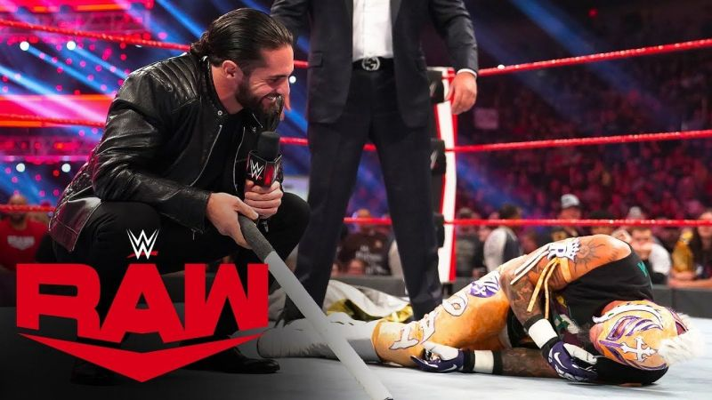 Seth Rollins and the AOP brutalized Rey Mysterio during the episode!