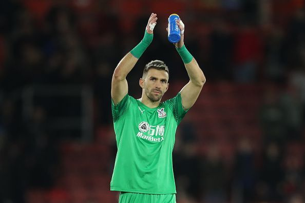 Guaita made a number of vital second half saves against Southampton