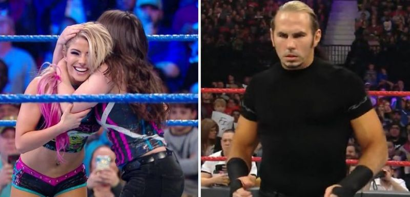 There were a number of interesting returns this week on WWE TV