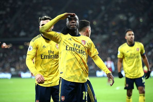 Pepe, Aubameyang and Martinelli will have to use their speed very efficiently