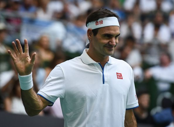 Despite being 38 , Federer continues to play at the highest level and excel.