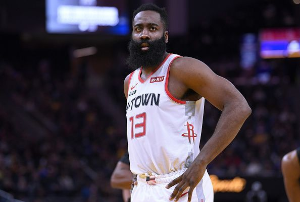 James Harden and the Rockets travel to New Orleans to face the Pelicans