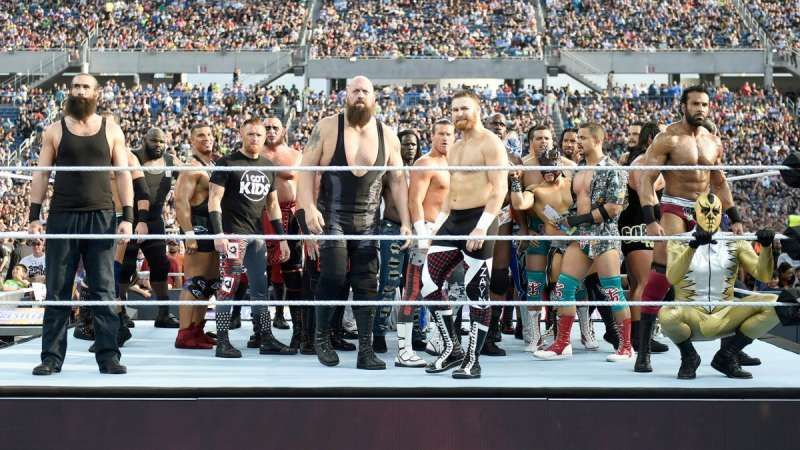 WWE का बड़ा