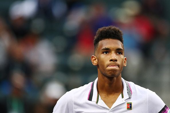 Canadian teenager Felix Auger Aliassime is a promising prospect