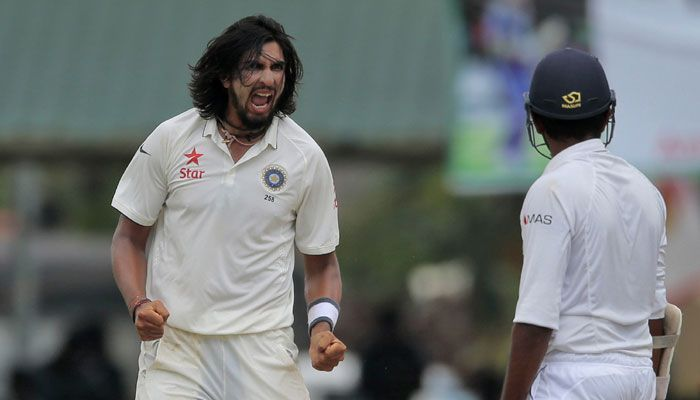 Ishant Sharma was too hot to handle for the Sri Lankan batsmen throughout the series.