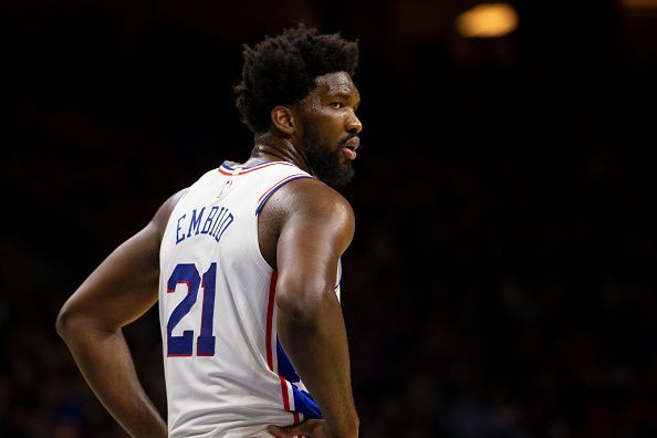 Embiid has retaliated well after a scoreless game against Toronto