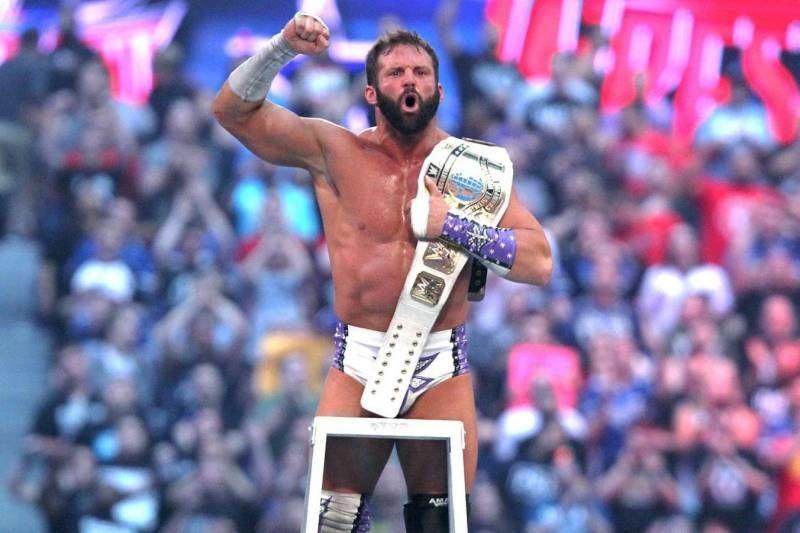 Zack Ryder won the IC Tutle at WrestleMania 32