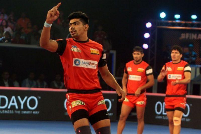 Pawan Sehrawat made his PKL debut in season 3