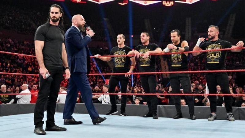 सैथ रॉलिंस, ट्रिपल एच & NXT रोस्टर