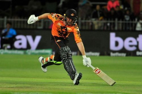 Ben Dunk got a 99 not out in the last innings for the Nelson Mandela Bay Giants