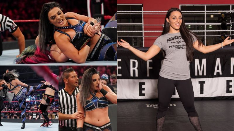 The Virtuosa debuted on RAW