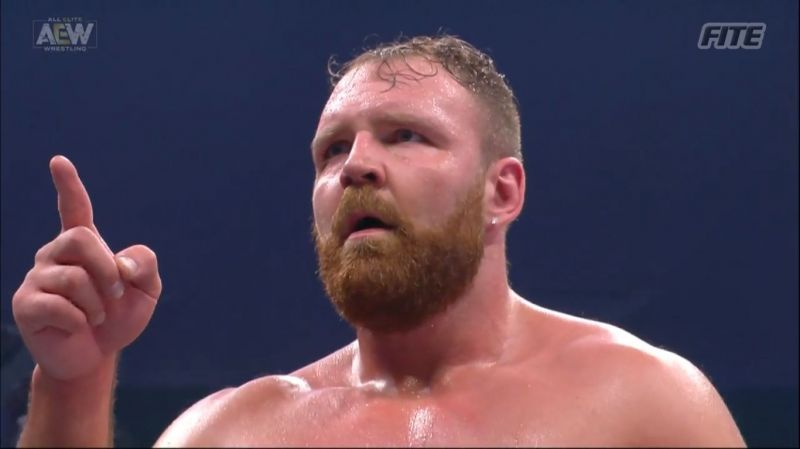 Jon Moxley took on Joey Janela in the main event