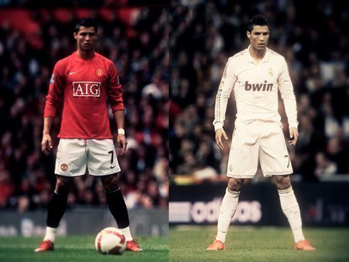 Ronaldo has won all individual and team honours at Manchester United and Real Madrid