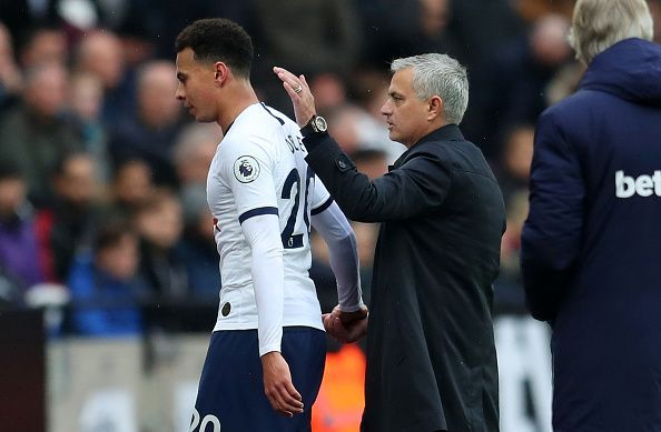 Mourinho has got Alli playing in top form