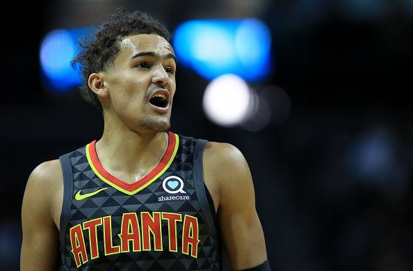 Trae Young has excelled despite the Hawks