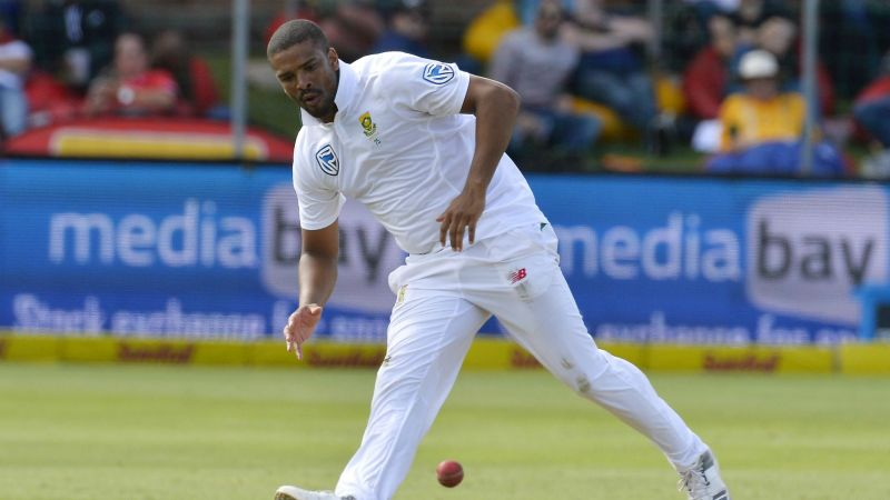 Vernon Philander, who is to join Somerset