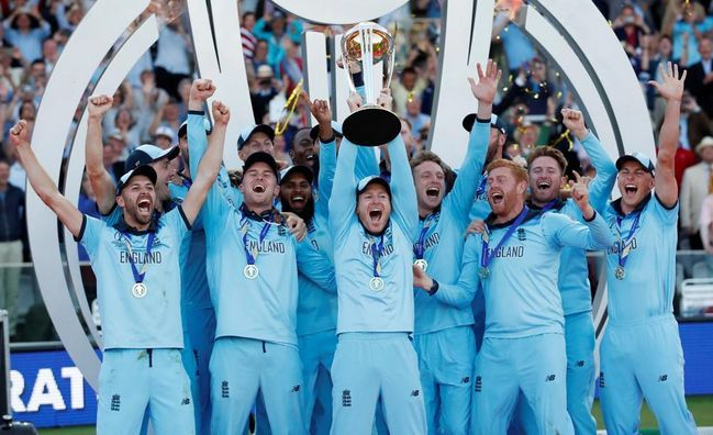 England became the world champions for the first time