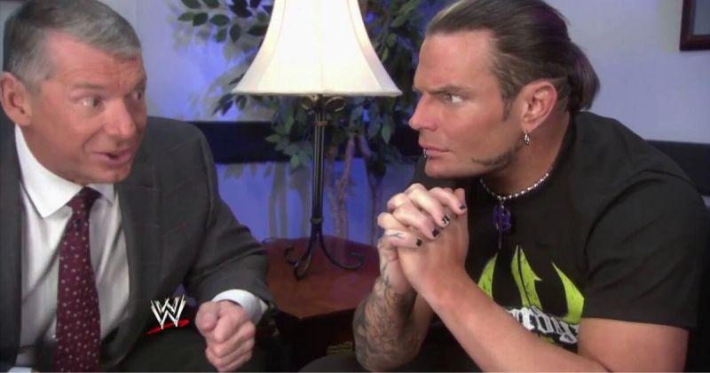 Vince McMahon and Jeff Hardy.