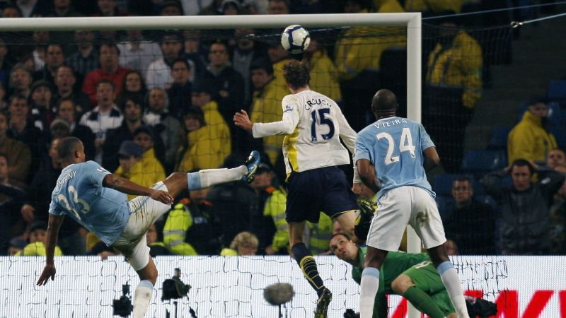 Peter Crouch headed Tottenham into the Champions League in 2010