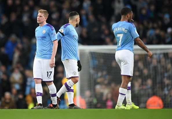 Manchester City have already lost four Premier League matches this season