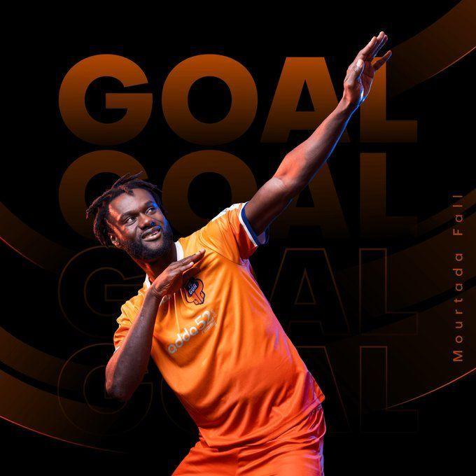 Mourtada opened the scoring for Goa (Image courtesy: FC Goa/Twitter)