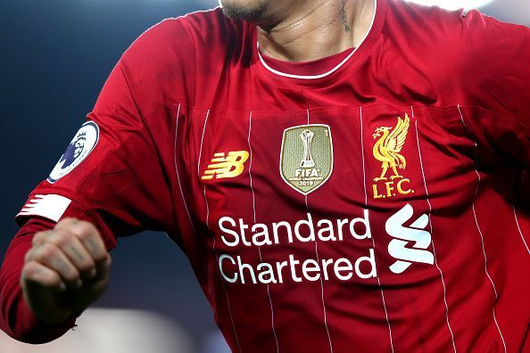 Liverpool kits are currently being supplied by New Balance