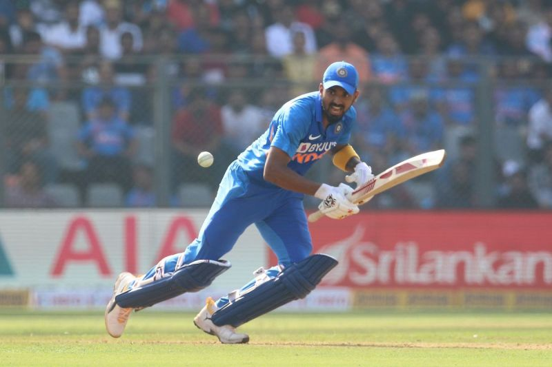 KL Rahul batted at number 3
