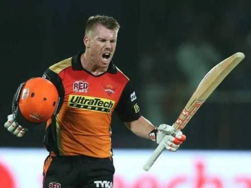 David Warner is a 3-time Orange Cap winner, each time for Sunrisers Hyderabad