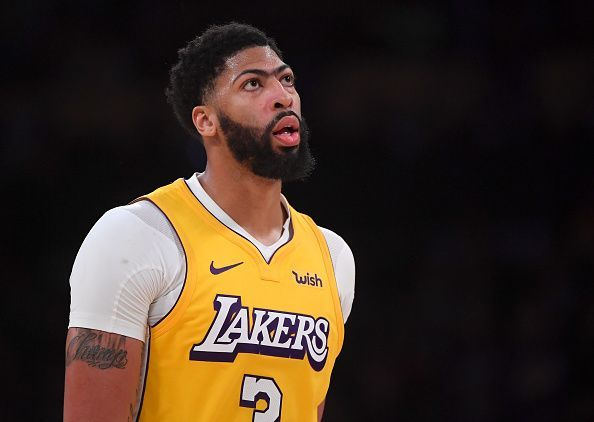 Anthony Davis enters the game in excellent form
