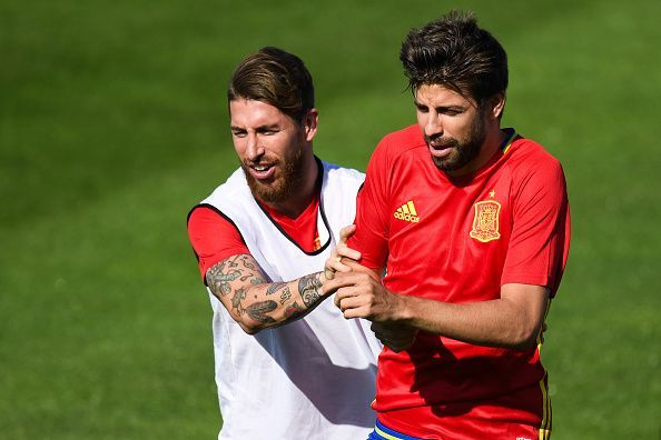 Sergio Ramos and Gerard Pique are widely regarded as two of the best centre-halves of the decade