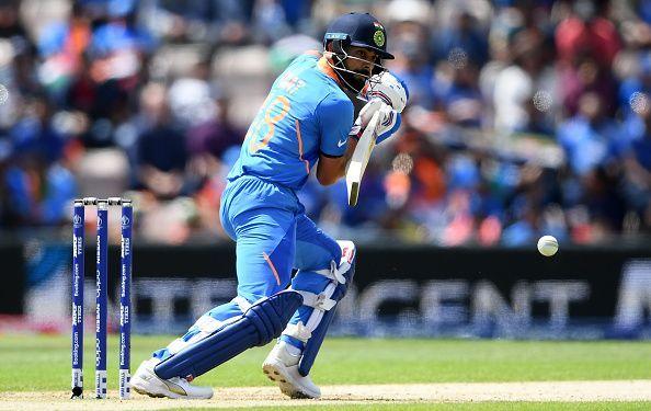 Virat Kohli dropped himself down to number 4