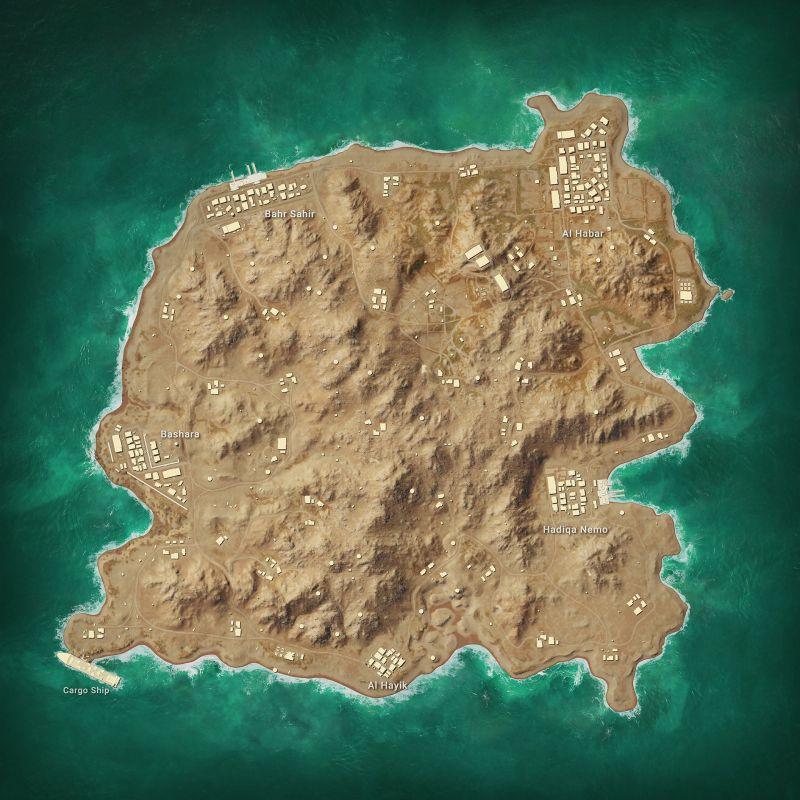 Karakin Map Structure