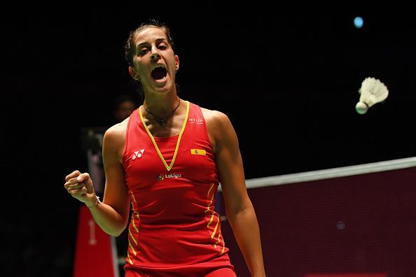 Carolina Marin made a stunning return from a devastating ACL injury
