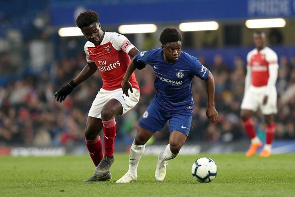 Chelsea Academy graduate Tariq Lamptey helped in the comeback win over Arsenal