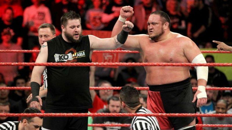 Kevin Owens and Samoa Joe