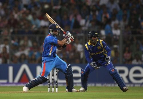 Virat Kohli made a crucial 35 in the 2011 World Cup final