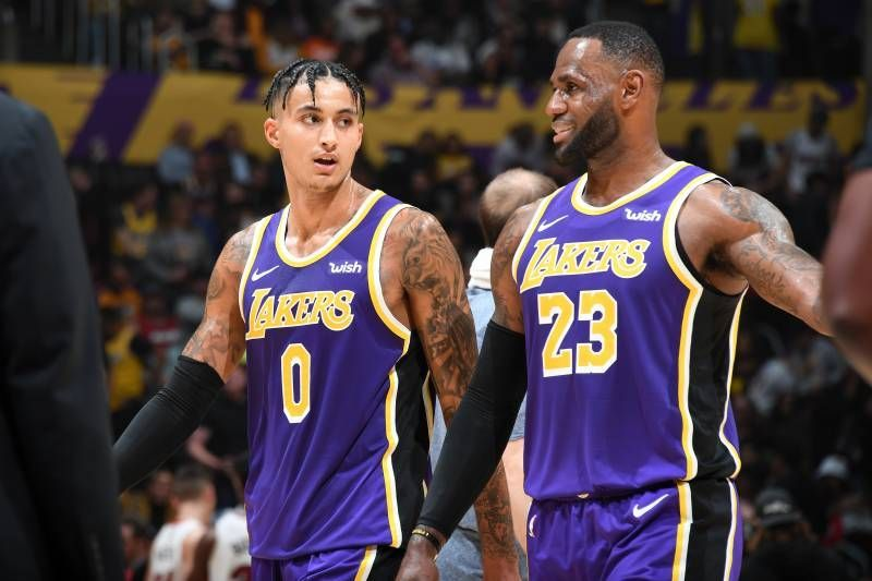 The Lakers are shorthanded and playing through pain.