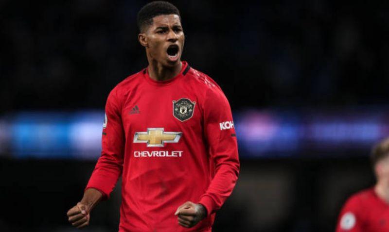 Marcus is Man United top scorer this season