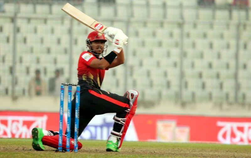 Soumya Sarkar scored an unbeaten fifty to guide Cumilla Warriors to victory
