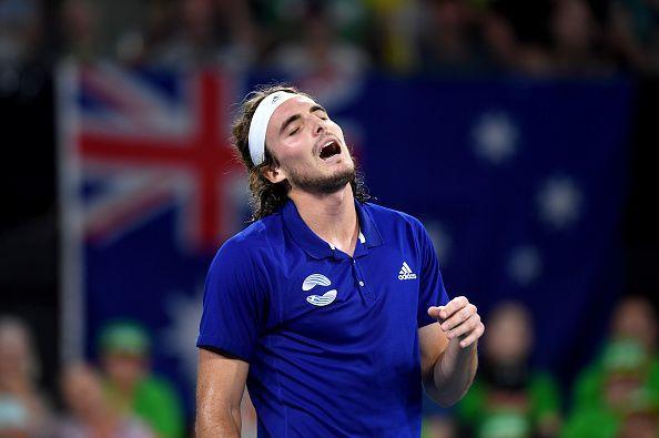 Greek star Stefanos Tsitsipas is yet to make a breakthrough in Grand Slams