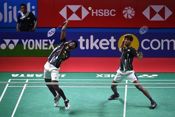 Chirag Shetty and Satwiksairaj Rankireddy