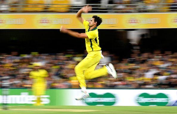 Mitchell Starc took three wickets in the first ODI