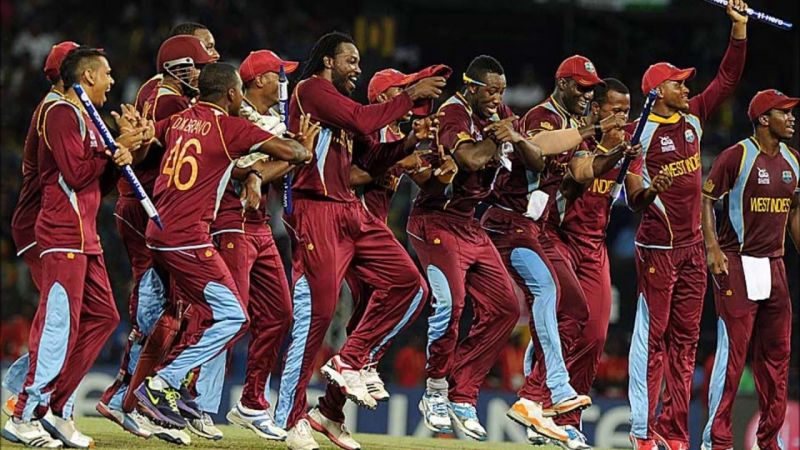 The windies team and their version of Gangnam Style