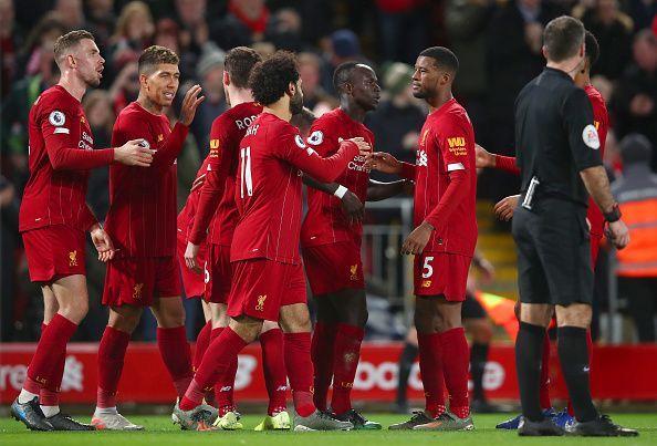 League leaders Liverpool