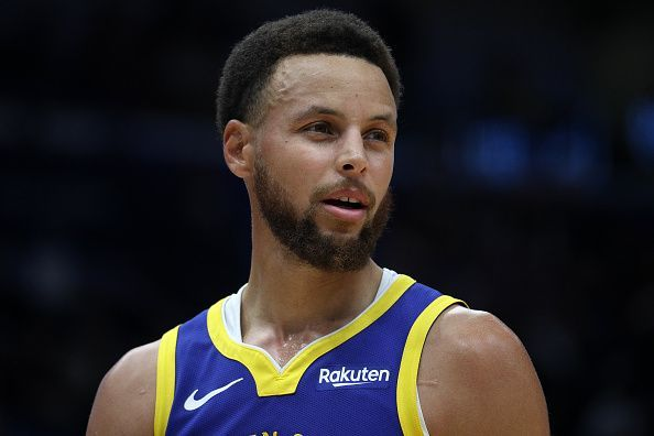 Steph Curry has missed much of the season with a broken hand