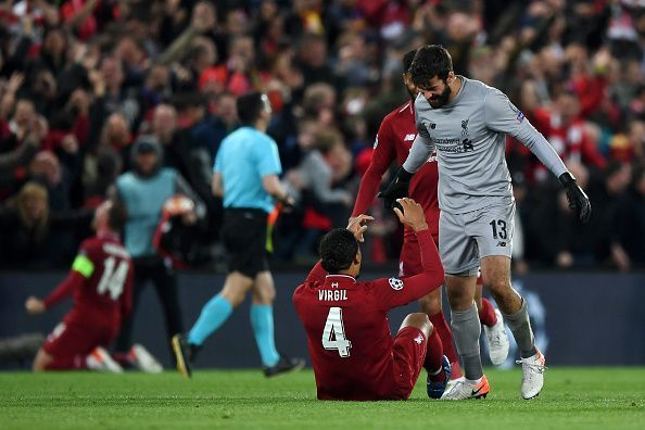Van Dijk and Alisson are possibly the best central defender and goalkeeper in the world at the moment.