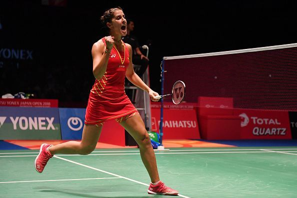 Carolina Marin looks to continue her journey towards the top of the rankings