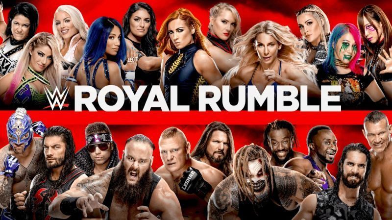 A stacked Royal Rumble awaits on January 26th